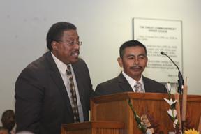 Pastor Willis, and Pastor Kus / Aug 21, 2013